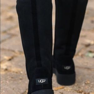 Classic Tall Uggs in Black.